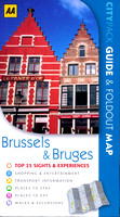 2011 - BRUSSELS & BRUGES - City Pack AA UK ISBN 978-0-7495-5244-2